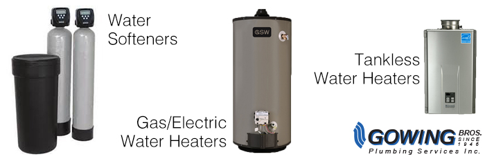 Water Softeners and Heaters