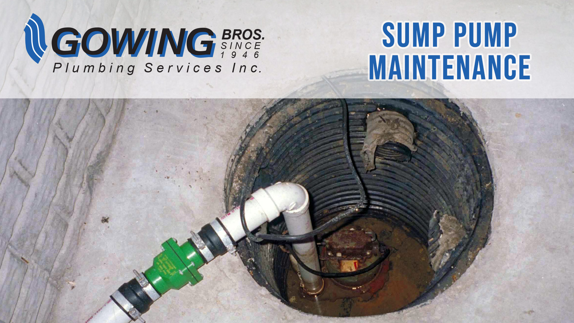 Sump Pump Maintenace